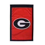University of Georgia Appliqued House Banner