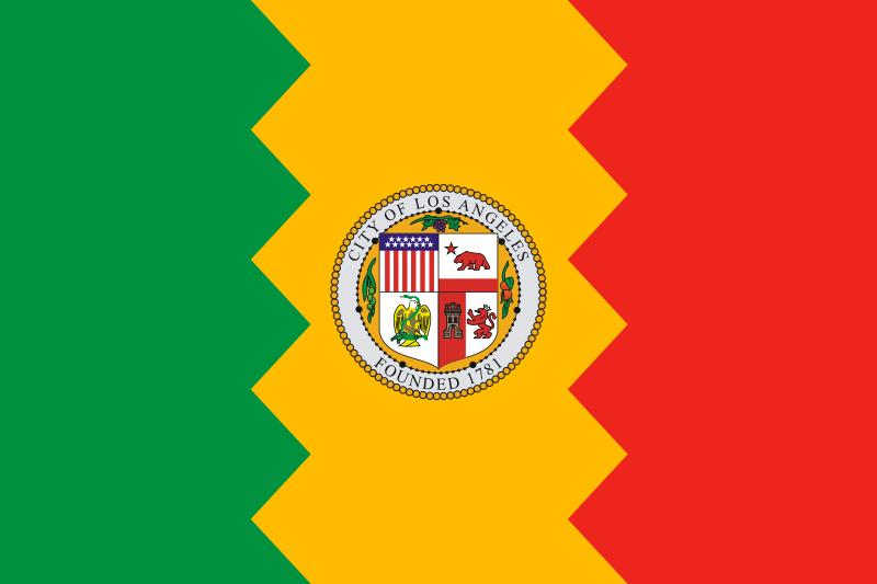 City of Los Angeles Flag