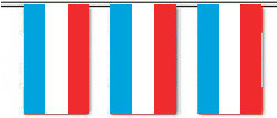 Luxembourg String Pennant