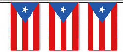 Puerto Rico String Pennant