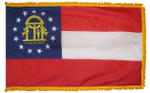 Georgia Fringed Flag