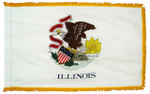 Illinois Fringed Flag
