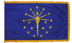 Indiana Fringed Flag