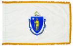 Massachusetts Fringed Flag