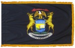 Michigan Fringed Flag