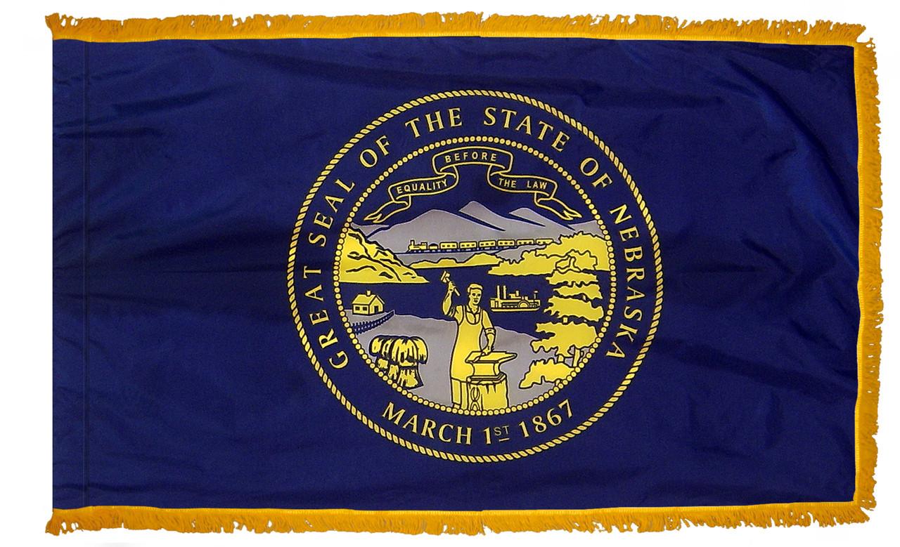 Nebraska Fringed Flag