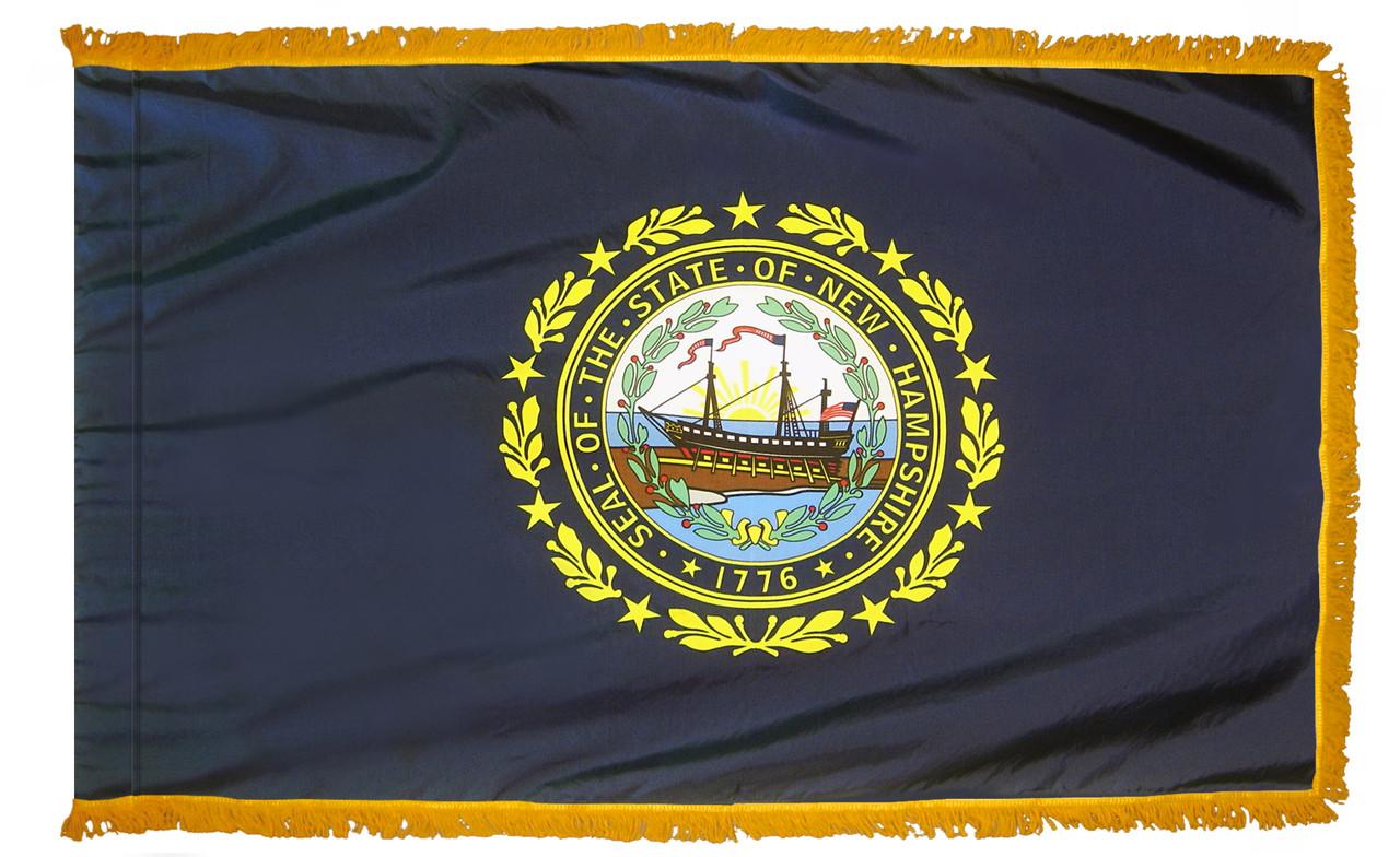New Hampshire Fringed Flag