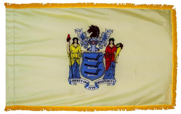 New Jersey Fringed Flag