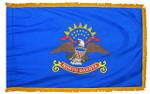 North Dakota Fringed Flag