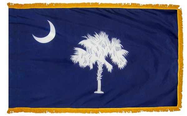 South Carolina Fringed Flag
