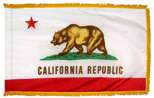 California Fringed Flag