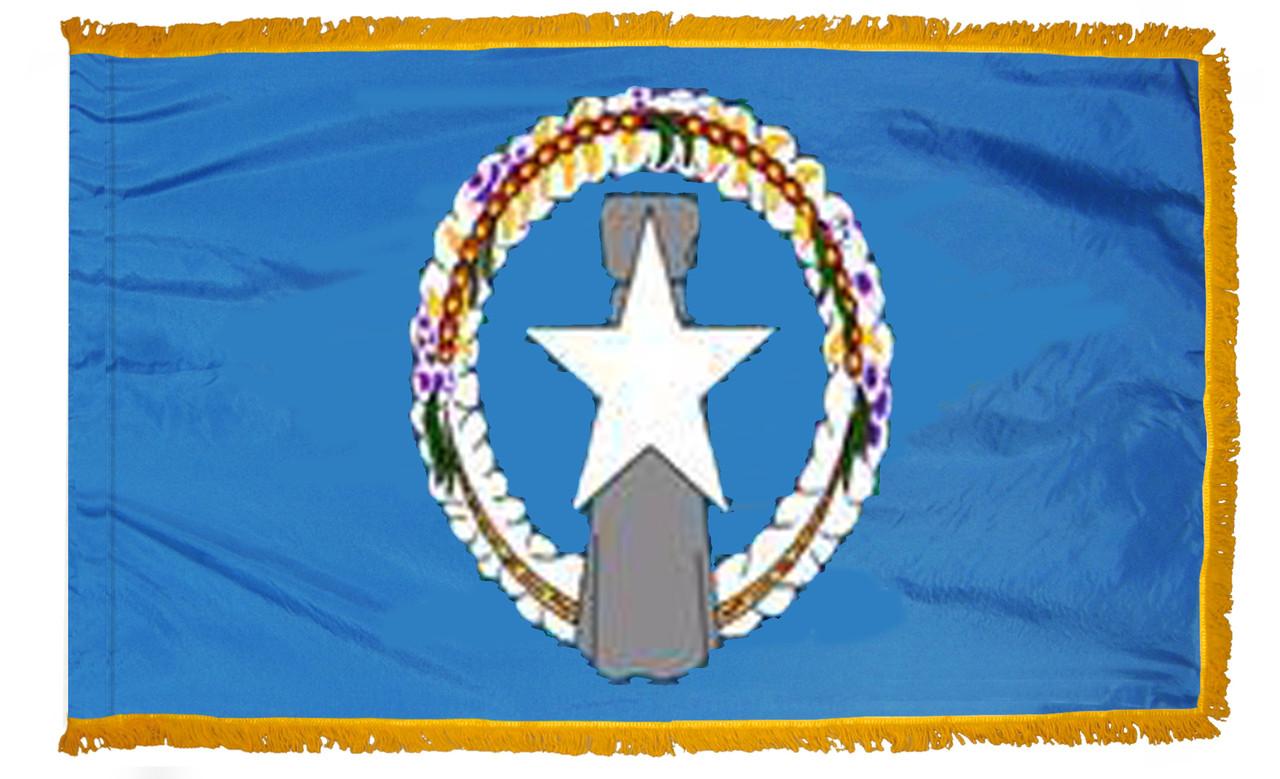 Northern Marianas Fringed Flag