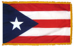 Puerto Rico Fringed Flag