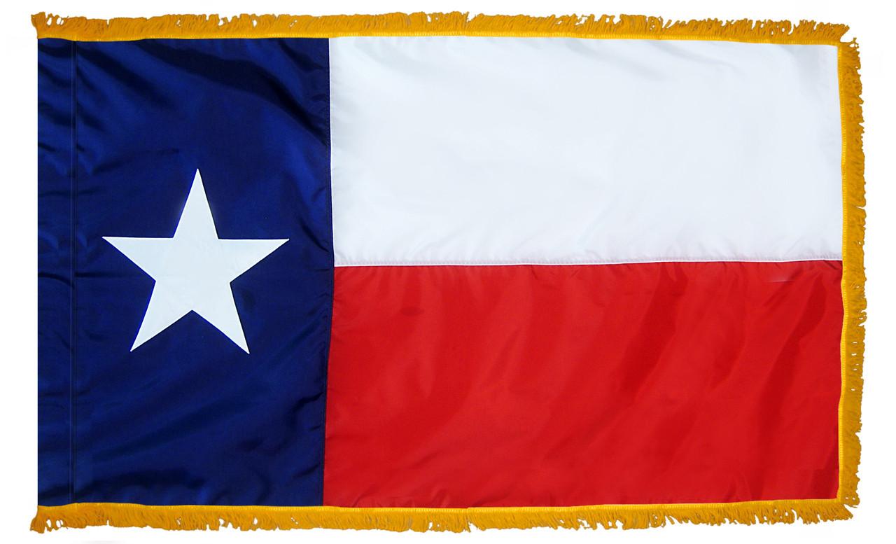 Texas Fringed Flag