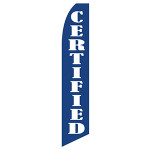 Certified Car Dealership Feather Flag