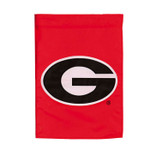 University of Georgia Appliqued Garden Flag