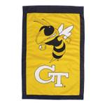 Georgia Tech Appliqued House Banner