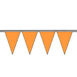 Blaze Orange Fluorescent Pennants