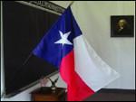 Valprin 24x36 Inch Polyester Texas Stick Flag