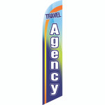 Travel Agency Semi Custom Feather Flag Kit
