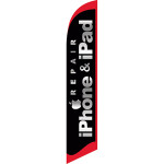 Iphone & Ipad repair feather flag