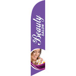 Beauty Salon Feather Flag