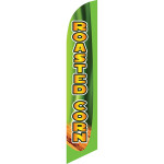 Roasted Corn (yellow letters) Semi Custom Feather Flag Kit