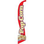 Pop Corn (white background) Semi Custom Feather Flag Kit