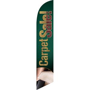 Carpet Sale (Green Background) Semi Custom Feather Flag Kit