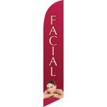 facial salon flag.