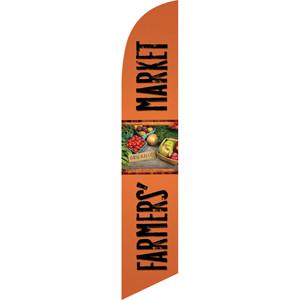 farmer's market harvest sign