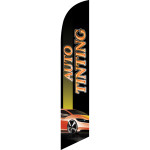 Auto Tinting (black background) Semi Custom Feather Flag Kit