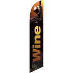 Wine (glass on top) Semi Custom Feather Flag Kit