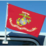 US Marines (USMC) Car Flags