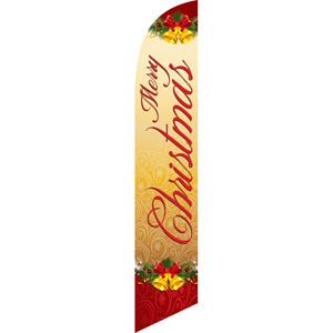 merry christmas cursive sign