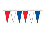 Red White and Blue Wind Beater Heavy Duty Pennants
