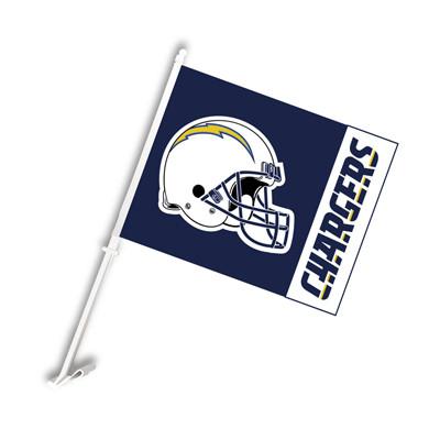 Los Angeles LA Chargers Car Flag