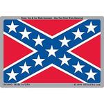 Confederate Flag Decal Sticker