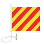 Y International Code Signal Flag (Rope and Toggle)