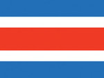 Costa Rica (no seal) Nautical Flag