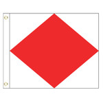 F International Code Signal Flag (Grommet)
