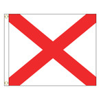 V International Code Signal Flag (Grommet)
