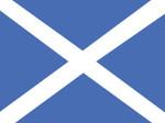 Scotland (St. Andrew's Cross) Nautical Flag