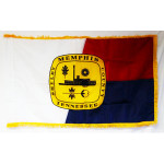 City of Memphis Fringed Flag