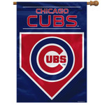 Chicago Cubs Two-Sided House Flag