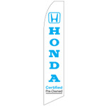 Honda Certified Pre-Owned Cars Feather Flag