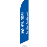 Hyundai Pre-Owned Feather Flag