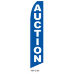 Auction Feather Flag blue