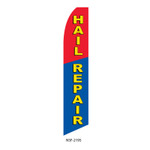 Hail Repair Feather Flag