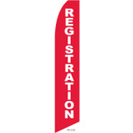 Registration Feather Flag